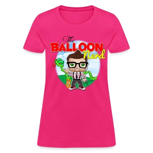 Womens Balloon Nerd - Women's T-Shirt