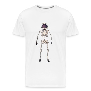 Time Dilation White T-Shirt - Men's Premium T-Shirt