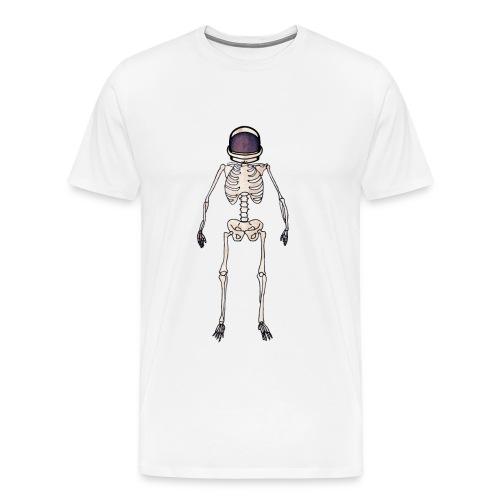 Time Dilation White T-Shirt - Men's Premium T-Shirt