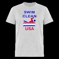 T-Shirts ~ Men's T-Shirt ~ Swim Clean
