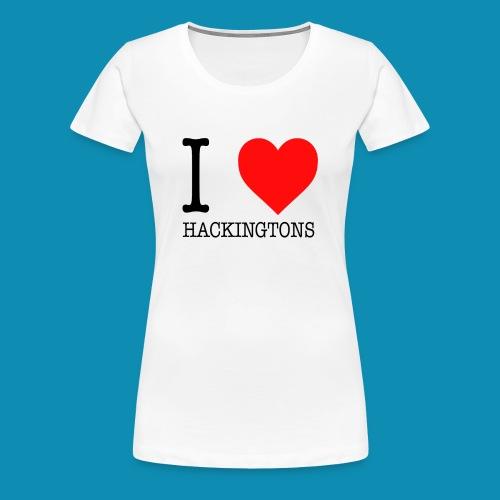 I Love Hackingtons Adult Woman - Women's Premium T-Shirt