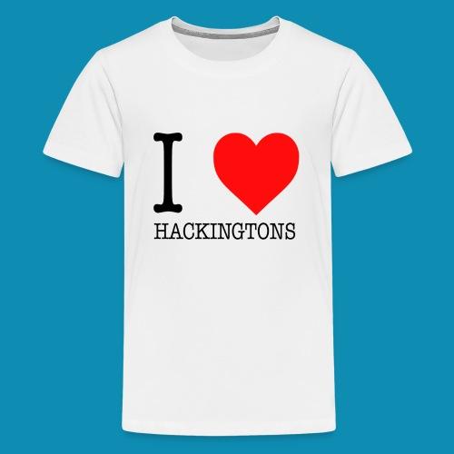 I Love Hackingtons Kids - Kids' Premium T-Shirt