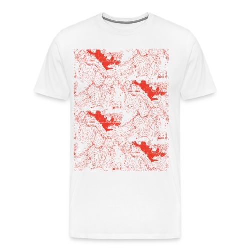 Topography 2 [all colors] - Men's Premium T-Shirt