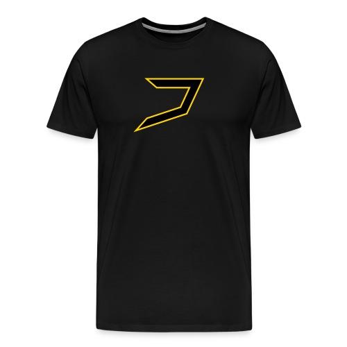 Black/Yellow Jayzoh - Men's Premium T-Shirt