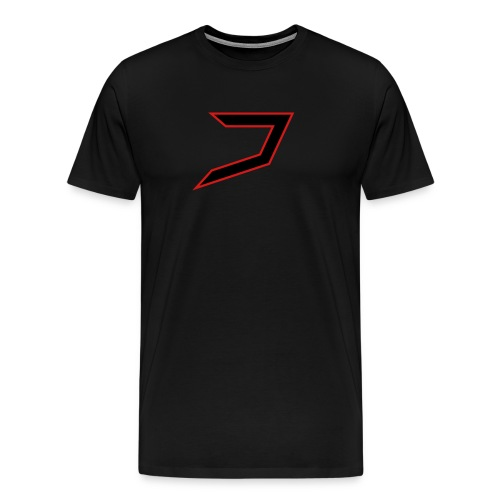 Black/Red Jayzoh - Men's Premium T-Shirt