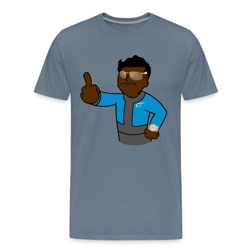 Buffed up vault boy - Men's Premium T-Shirt