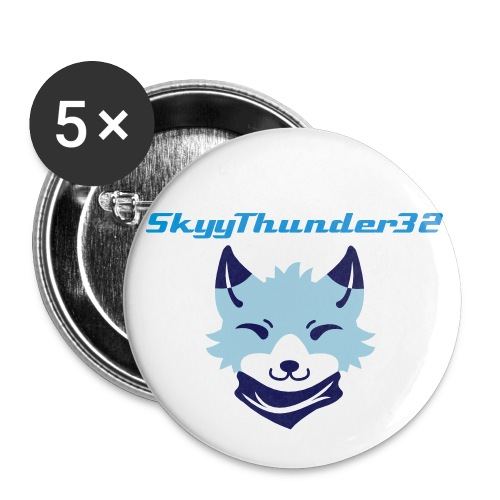 Skyy Pin's - Large Buttons