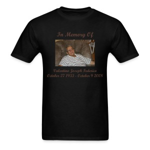 In Memory Of Valentino Joseph Federico T-Shirt (Mens) - Men's T-Shirt