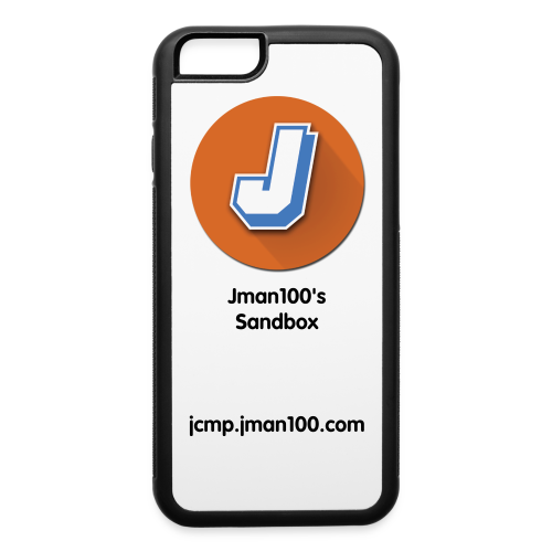 Jman100's Sandbox iPhone 6/6s Rubber Case - iPhone 6/6s Rubber Case