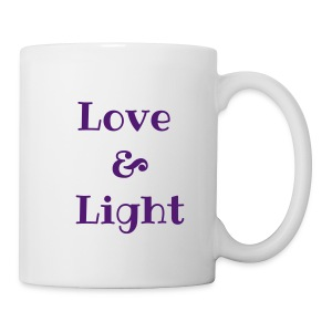 Love & Light Coffee Mug - Coffee/Tea Mug