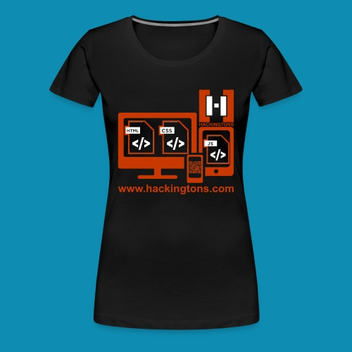 Hackingtons Shirt Adult Women - Women's Premium T-Shirt