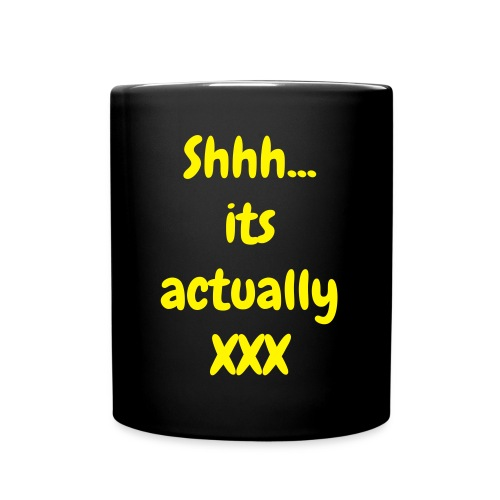 Shh...Booze  mug - Full Color Mug