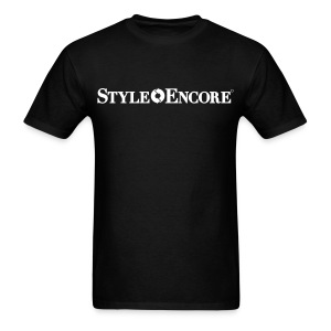 style encore black mens - Men's T-Shirt