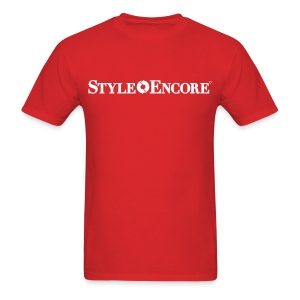 style encore red mens - Men's T-Shirt