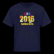 Kids' Shirts ~ Kids' T-Shirt ~ 2016 Golden Girls - Kids t-shirt - navy
