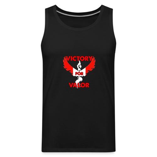 Victory for Valor Muscle Shirt - Men's Premium Tank