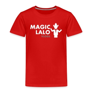 Magic lalo Vlogs 4 - Toddler Premium T-Shirt