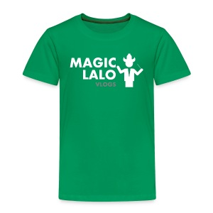 Magic lalo Vlogs 5 - Toddler Premium T-Shirt