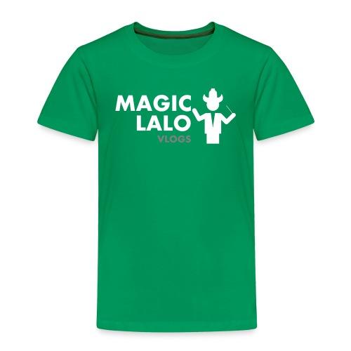 Magic lalo Vlogs 5 - Toddler Premium T-Shirt