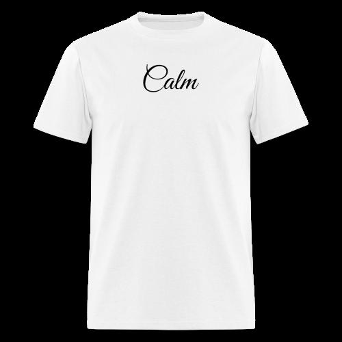 Calm Tee - White - Men's T-Shirt