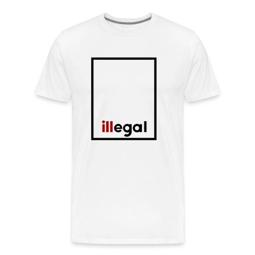 illegal - ill Box No Trees - Men's Premium T-Shirt