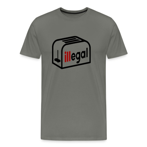 illegal - Toasted - Men's Premium T-Shirt