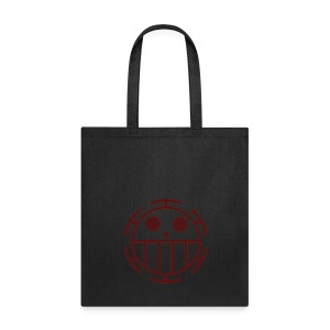 Tote Bag - Unlike many other pirates from the North Blue, the Heart Pirates do not use a skull and crossbones, but a smiley face instead