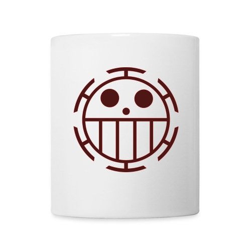 Coffee/Tea Mug - Unlike many other pirates from the North Blue, the Heart Pirates do not use a skull and crossbones, but a smiley face instead