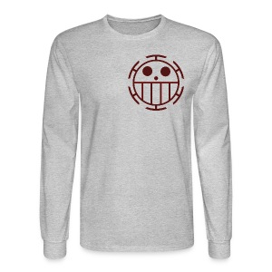 Men's Long Sleeve T-Shirt - Unlike many other pirates from the North Blue, the Heart Pirates do not use a skull and crossbones, but a smiley face instead