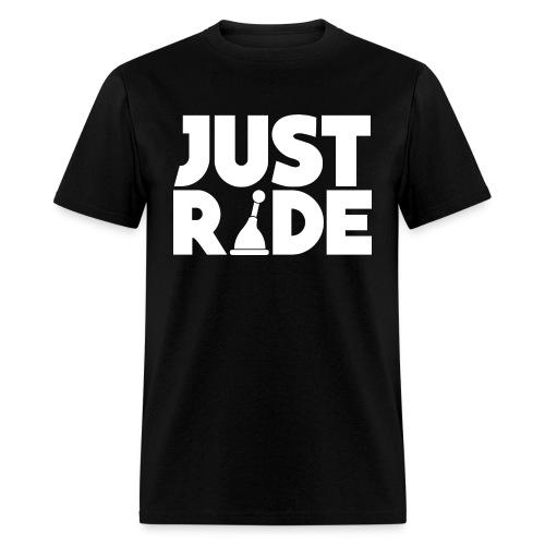 just ride - Men's T-Shirt