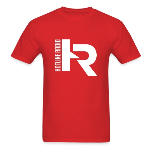 Mens Red Tee Available in Different Colors and Sizes - Men's T-Shirt