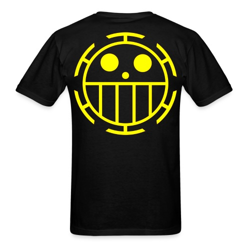 Men's T-Shirt - Unlike many other pirates from the North Blue, the Heart Pirates do not use a skull and crossbones, but a smiley face instead