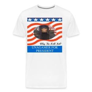 Men's Unagamer For President Shirt - Men's Premium T-Shirt