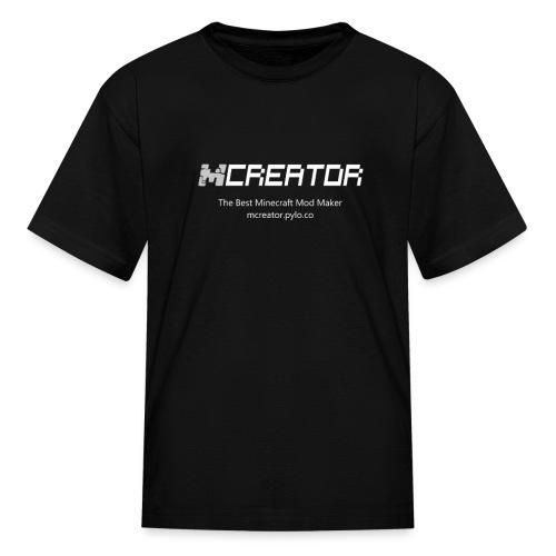 MCreator's logo T-Shirt - Kids - Kids' T-Shirt