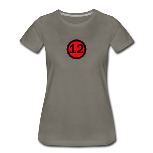 Original 12 Logo T For Womerns - Women's Premium T-Shirt