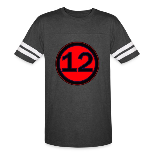 12 Jersy T - Vintage Sport T-Shirt