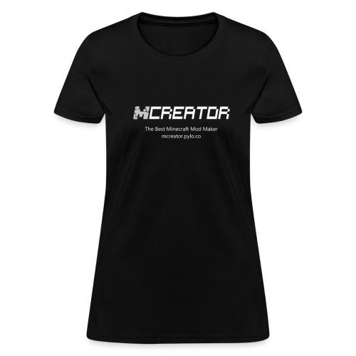 MCreator's logo T-Shirt - Women - Women's T-Shirt
