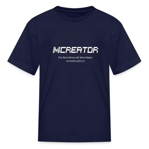 MCreator Logo T-Shirt - Color - Kids - Kids' T-Shirt