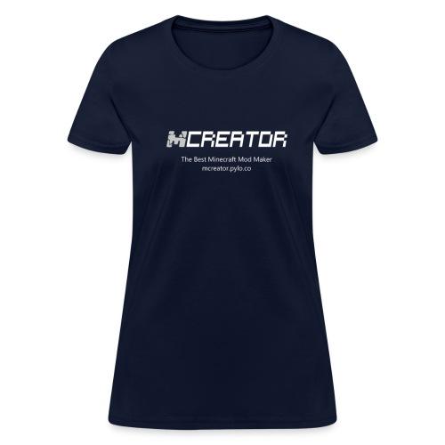 MCreator Logo T-Shirt - Color - Women - Women's T-Shirt
