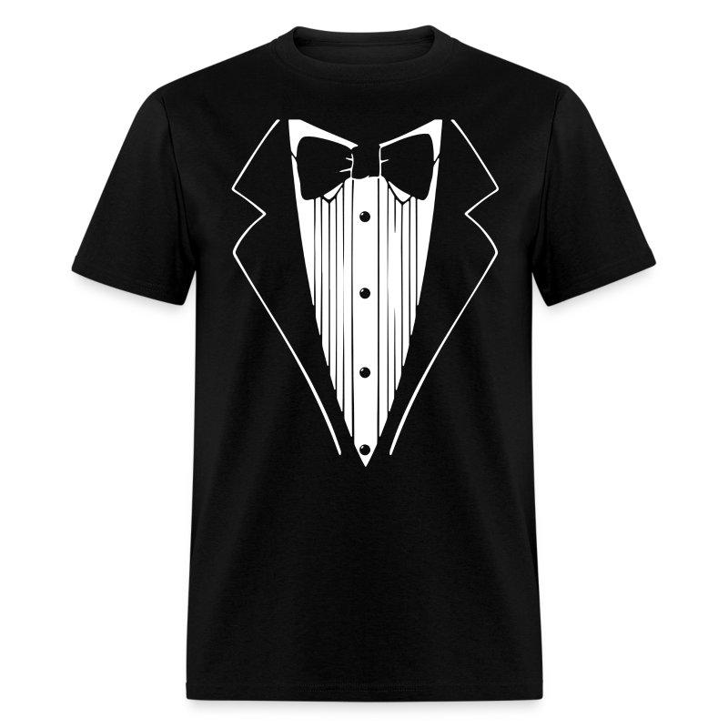 Sexy tuxedo shirt