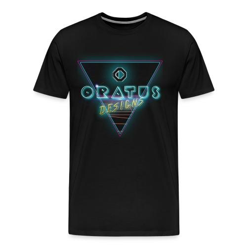 Oratus Retro - Men's Premium T-Shirt