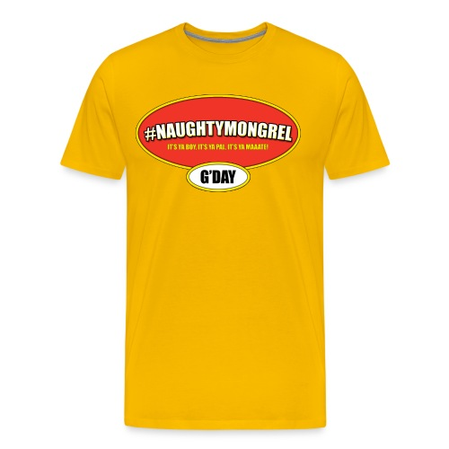 Vegemite Mongrel Shirt - Men's Premium T-Shirt