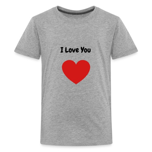 I Love You - Kids' Premium T-Shirt
