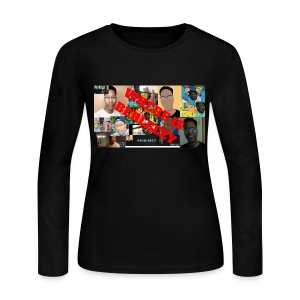 I'M BACK FOR ANOTHER VIDEO!!! - Women's Long Sleeve Jersey T-Shirt