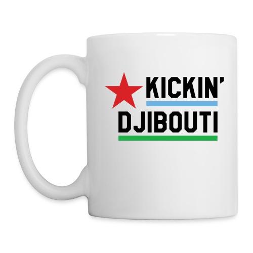Kickin' Djibouti mug white - Coffee/Tea Mug