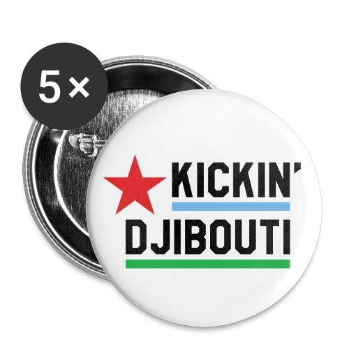 Kickin Djibouti buttons - Buttons small 1'' (5-pack)