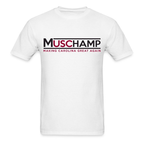 Boom Shirt White - Men's T-Shirt