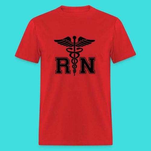 Red RN Male Nurse Men's T-Shirt - Men's T-Shirt