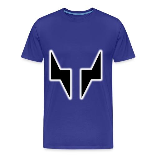 BlackGlowSILVR - Men's Premium T-Shirt