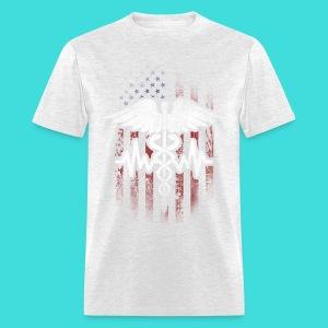 Patroitic Nurse Men's T-Shirt - Men's T-Shirt